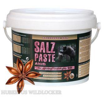Salzpaste mit Anisaroma im 2,5 kg Eimer / Wildlockmittel Art. Nr. HU- 94001