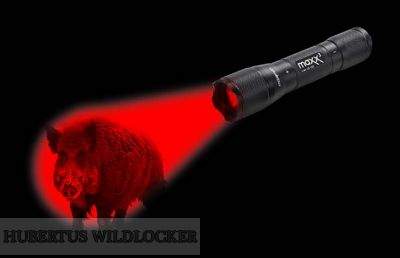Wildfinder  Lampe Maxenon Maxx3 -  CREE LED rot