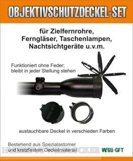 Objektivschutzdeckel-Set-Innendurchm. 62 u.57mm FlipCaps