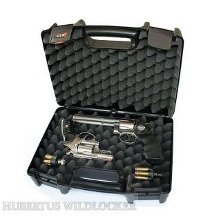 Pistolenkoffer 37,5 x 28 x 13 cm Farbe schwarz Art.Nr. HU-550001