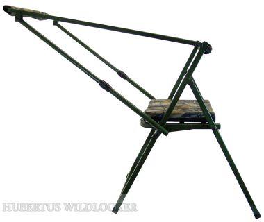 Ansitzstuhl ALU m. verstellbarer gummierter Gewehrauflage Art.Nr. HU- 170148