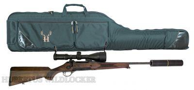 Waffenfutteral für Büchsen mit Schalldämpfer  Länge 135 cm  Art.Nr.HU-170132