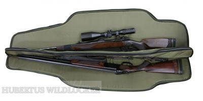 Waffenfutteral 2 Langwaffen mit Zielfernrohr