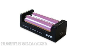 Li-Ion  Akku  Ladegerät  XTAR MC1 zum laden für 2 AKKU / Art.Nr. 70015
