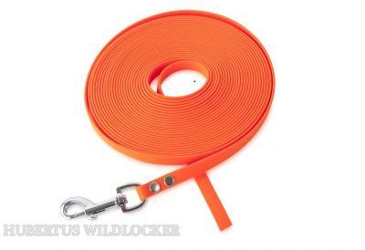 Schleppleine orange  PVC  10 m x 1,2 mm  Art. Nr. HU 2012045