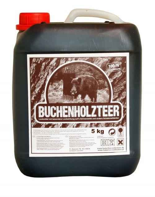 Buchenholzteer 5 kg  Kanister -Wildlockmittel HU- 93034