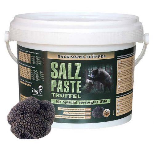 Salzpaste mit Trüffelaroma im 2,5 kg Eimer / Wildlockmittel Art. Nr. HU-94002