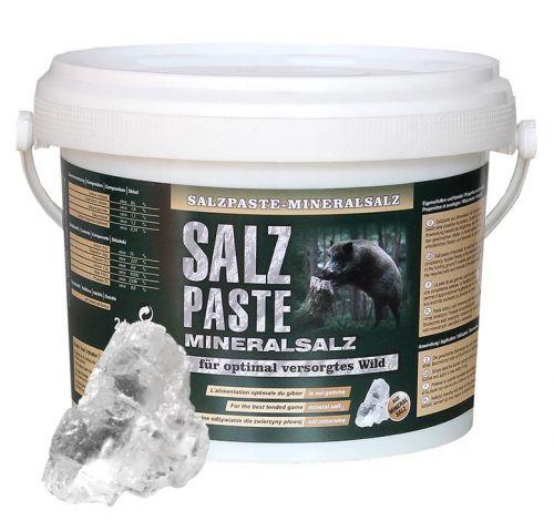 Salzpaste mit Spurenelementen im 2,5 kg Eimer / Wildlockmittel Art. Nr. HU-94003