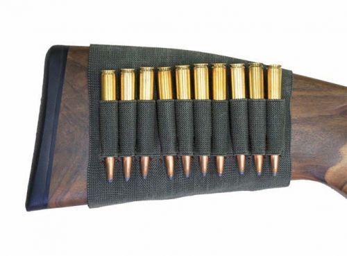 Kolbenschaftetui-Patronenetui .10 Büchsenpatronen HU-11111
