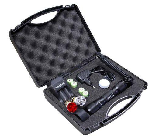 Maxenon - Wildfinderlampenset inkl. LED- Brenner rot