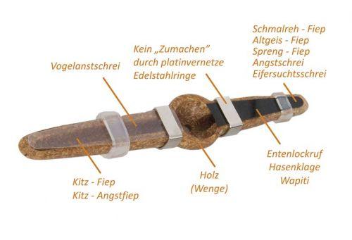 Rehwildblatter Edel Mundblatter-Hubertus HU-2013295- H