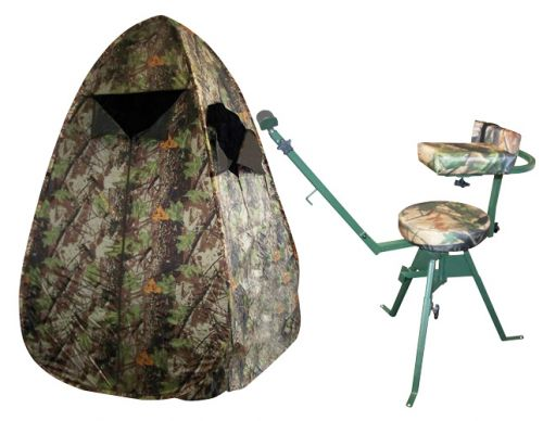 zeltschirm jagdzelt plus schie stuhl 360 drehbar hubertus. Black Bedroom Furniture Sets. Home Design Ideas