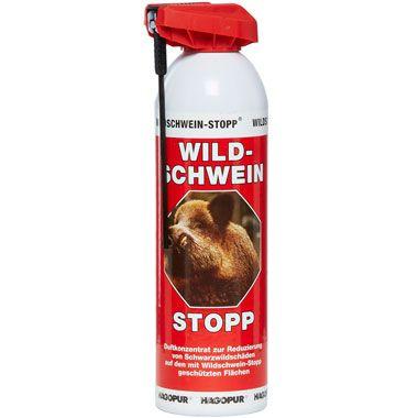 Wildschwein-Stopp Spray  rot /  Dose mit 500 ml - Wildvergr�mungsmittel HU-92532