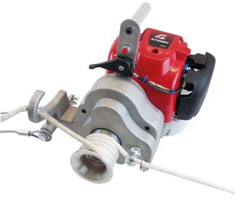 Motor-SpillwindeSet 0,95 KW, 1000 kg inkl. Bergeseil 100m