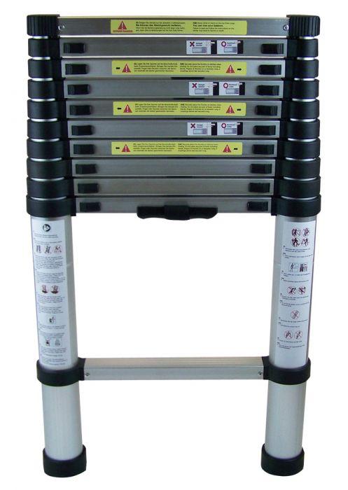 AluminiumTeleskopleiter ca. 3,2 m HU-201560535