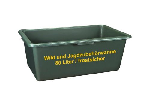 Wildwanne  80 L / Frostsicher