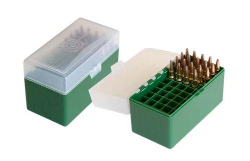 Patronenbox X Large für Büchsenpatronen grün/ transparent HU-2016402 G/T