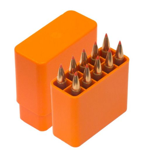 Patronenbox für Büchsenpatronen / Taschenpatronenbox f. 10 Patronen  Ammo Box HU-2016502