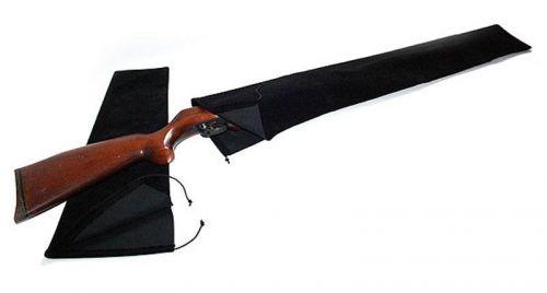 Gewehrsocke / Samt Gun Sock für Gewehre Farbe schwarz