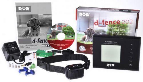 Dogtrace d-fence 202 black unsichtbarer Hundezaun bis 2200m