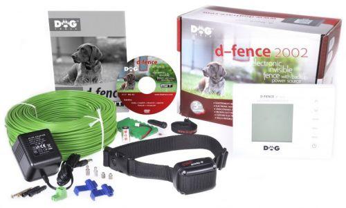 Dogtrace D-fence 2002 white unsichtbarer Hundezaun inkl. Draht