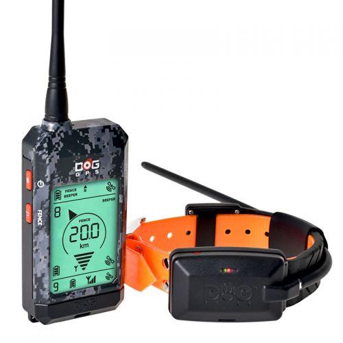 Hundeortungsgerät GPS X20 - Hundeortung  von DOCTRAC/ schwarz o. orange Reichweite ca. 20 km