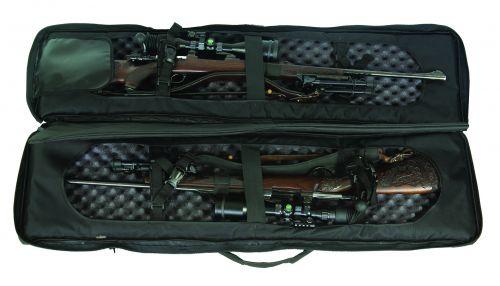 Waffenfutteral/ Gewehrfutteral / Schießmatte Sniper Tactical / Drag Bag für 2 Langwaffen Art.Nr. HU-9992018