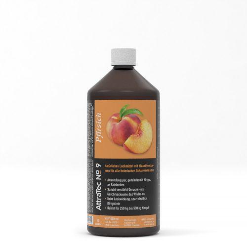 Wildlockmittel PFIRSICH AROMA  AttraTec No. 9  / 1000 ml Art.Nr. 60013