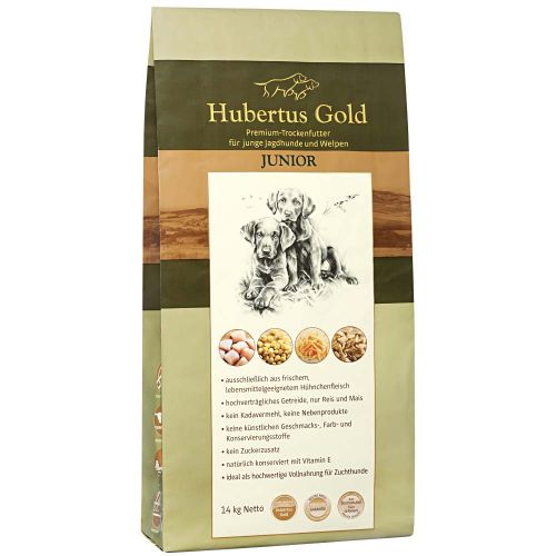 Hundetrockenfutter Hubertus Gold /Junior Premium-Trockenvollkost 669130