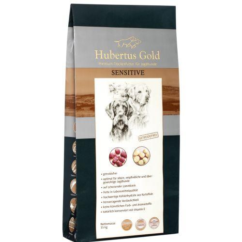 Hundetrockenfutter Hubertus Gold /Sensitive Premium-Trockenvollkost 669120