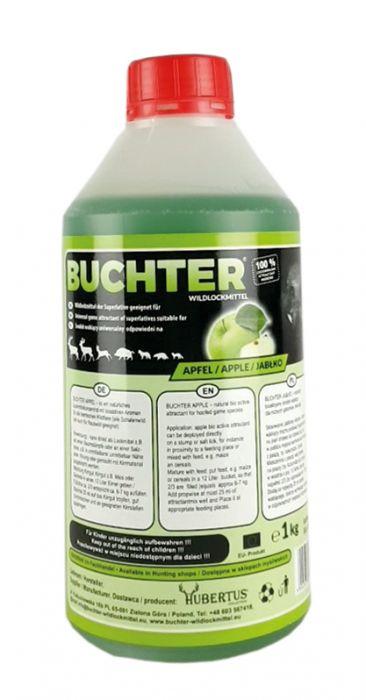 HUBERTUS-BUCHTER APFEL-AROMA Wildlockmittel Konzentrat 1 kg Flasche / TOP - EFFEKT AN DER  KIRRUNG  Art. Nr. BU-18004