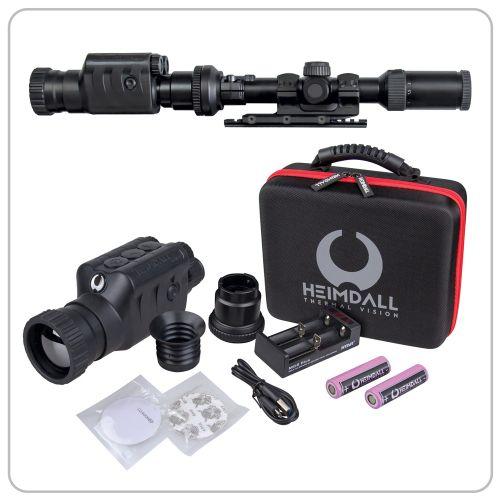 HEIMDALL Fokus 50 Thermal 2in1 - 2.0 Wärmebildkamera-Vorsatzgerät. Art.Nr.202150