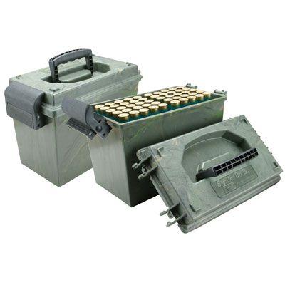 Munitionskosffer / Munitionsbox - MTM f. Schrotpatronen  im Kal. 12/20