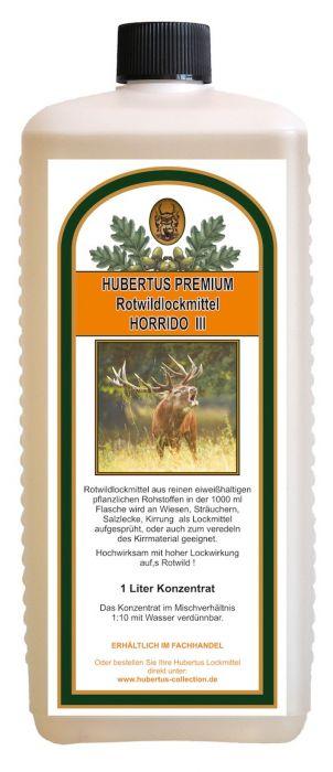 Rotwildlockmittel HORRIDO III 1000 ml Konzentrat   HU- 92528