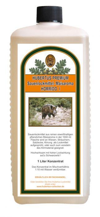 Schwarzwildlockmittel Maisaroma - HORRIDO I / 1000 ml Konzentrat HU- 92525
