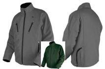 Beheizbare Thermo Jacke grün