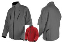 Beheizbare Thermo Jacke rot