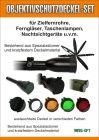 Objektivschutzdeckel- SET-Innendurchm. 62 u.57mm