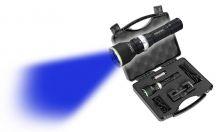 Maxx5 Schweißfinder Lampe m. CREE- LED blau