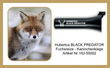 Kaninchenklage HUBERTUS  BLACK PREDATOR Art. Nr. HU-55002
