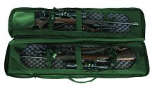Gewehrfutteral / Schießmatte Sniper Tactical / Drag Bag für 2 Langwaffen Art.Nr. 9102018 grün