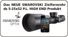 Swarovski dS 5-25x52 P SR  Zielfernrohr mit Schienenmontage Art. Nr.  SW-30001 SR