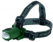 GREINER LED- Power Stirnlampe ohne Batterien mit Stromerzeuger