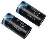 Batterien CR 123A  im 2er Pack