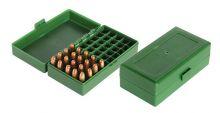 Patronenbox für Kurzwaffenmunition Revolver. Pistolen im Kal.38 spez./45 ACP/ 40 SW HU- PBOX-04